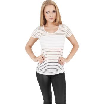 női átlátszó póló